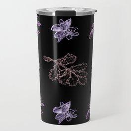 Quercus (black, purple) Travel Mug