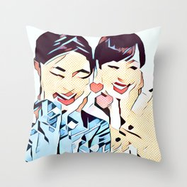 Insta 1 Throw Pillow