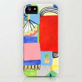 Primary Geo Summer Day iPhone Case
