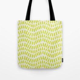 Mosaic Waves Tote Bag