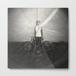 Annie and Ethel Metal Print