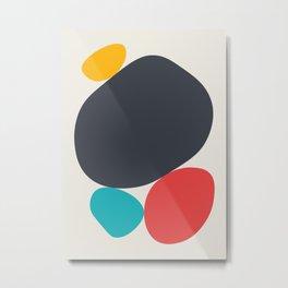Abstract No.7 Metal Print