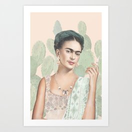 Couture Mexicaine Art Print