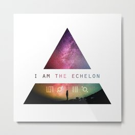 I am the Echelon - 30 Seconds to Mars Metal Print