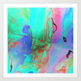 Colour Mixer II Art Print