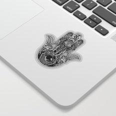 Hamsa Hand Elephant Sticker