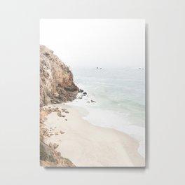 Malibu California Beach Metal Print