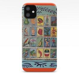 Mexican Bingo Loteria iPhone Case