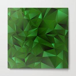 Rough Gems ~ Emerald Metal Print