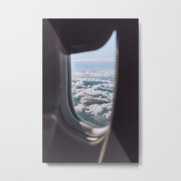 Sunrise views from above Metal Print