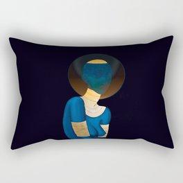 Or du Temps Rectangular Pillow
