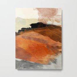 landscape in fall abstract art Metal Print