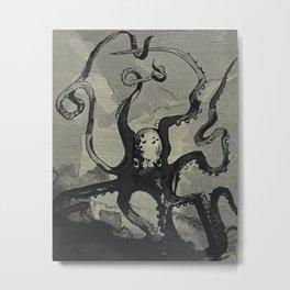 Fortuné Méaulle: The Octopus Metal Print