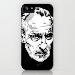 Sir Christopher Lee iPhone Case