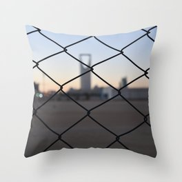 Kingdom Center in Saudi Arabia Throw Pillow