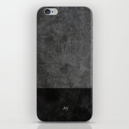 Dark luxury concrete  iPhone Skin