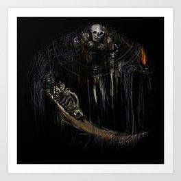 Gravelord Nito - Dark Souls (black tee PNG edition) Kunstdrucke