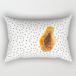 Papaya vibes Rectangular Pillow