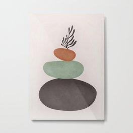 Abstract Shapes Metal Print