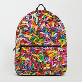 Rainbow Sprinkles Sweet Candy Colorful Backpack