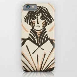 Joan of Arc Illustration | Alex Gold Studios iPhone Case