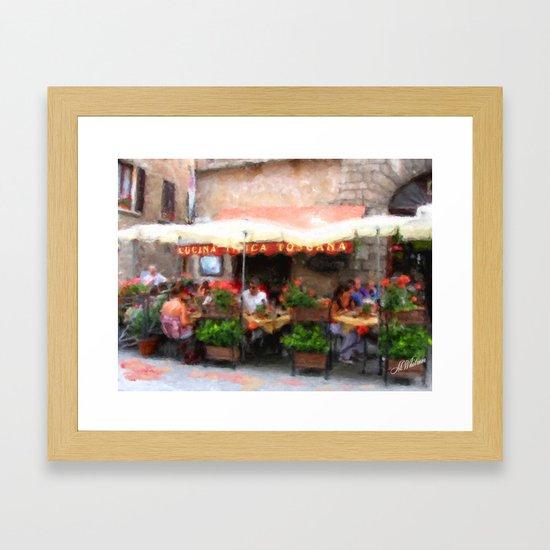 European Cafe Montepulciano by marywhitmer