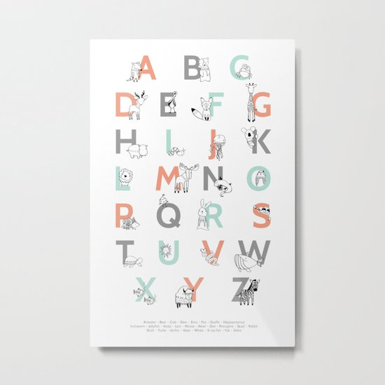 Animal Alphabet by amyhamilton