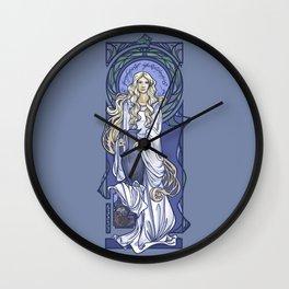 Galadriel Nouveau Wall Clock
