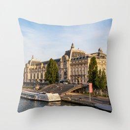 Musée d'Orsay - Paris Throw Pillow