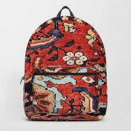 Mahal Vagireh Arak West Persian Rug Sampler Print Backpack