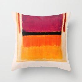 Mark Rothko Exhibition poster 1979 Throw Pillow