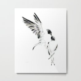 Time to Leave the Nest Metal Print