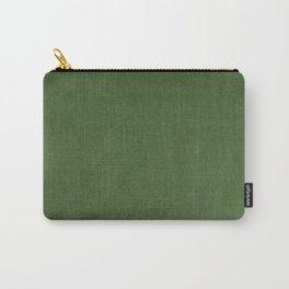 Sage Green Velvet texture Carry-All Pouch