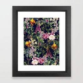 Midnight Forest VII Framed Art Print