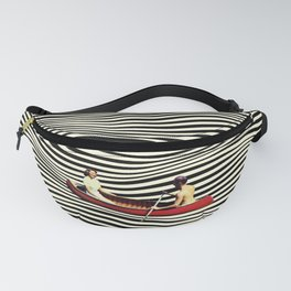 Illusionary Boat Ride Fanny Pack