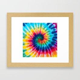 Tie Dye 2 Framed Art Print