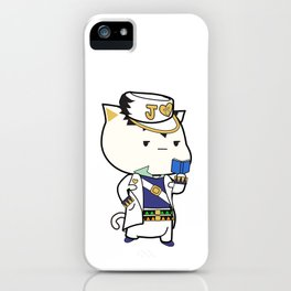 Jotaro Catjo iPhone Case