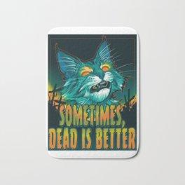 scott robertson orange sometimes dead is better t-shirt tank top   sticker  print art Bath Mat