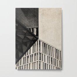 NOIR CITY / Aligned Metal Print