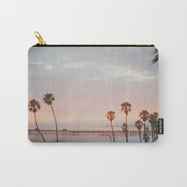 palm trees sunset vi / san clemente, california Carry-All Pouch