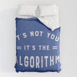 Blame the Social Media Algorithm Comforters