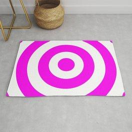 Target (Magenta & White Pattern) Rug