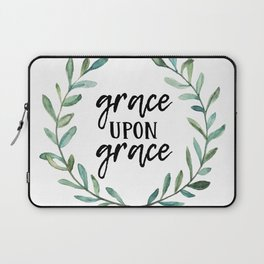 Grace Upon Grace Laptop Sleeve