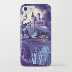 Never a Quiet Year at Hogwarts iPhone 8 Slim Case