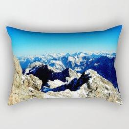 Zugzpitze Germany Rectangular Pillow