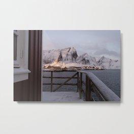 Morning in Lofoten Metal Print