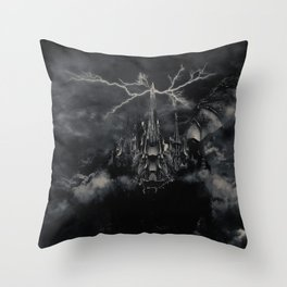 Final Fantasy VIII - Ultimecia's Castle Throw Pillow