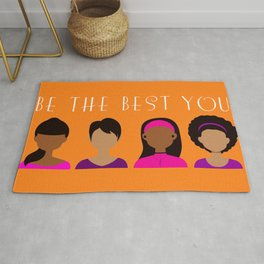 Black Girls Be The Best You Rug