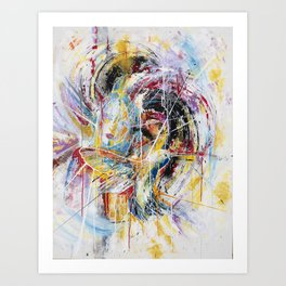 All the Gold Art Print