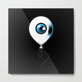 Balloon Eyes Motif Lovers Gift Design Metal Print